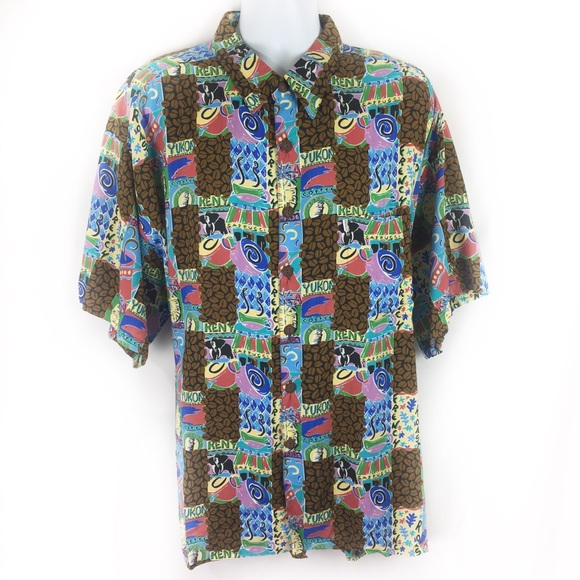 Kahala Other - KAHALA | HP!!! Hawaiian shirt coffee themed Xxl